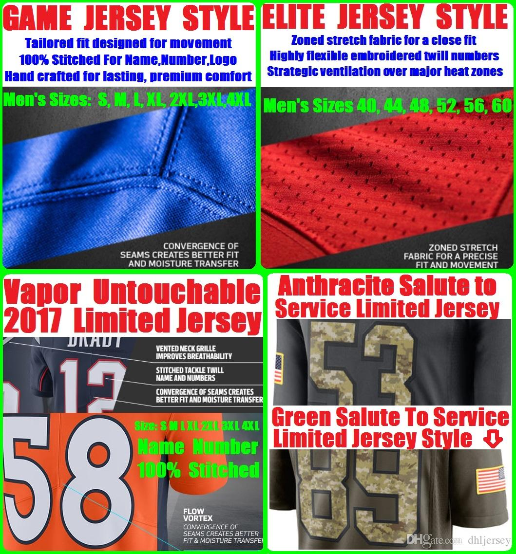 60ab3723f69 ... Cheap American Football Jerseys Solomon Thomas Joe Montana Colin  Kaepernick NaVorro Bowman Customized Men Women Youth ...