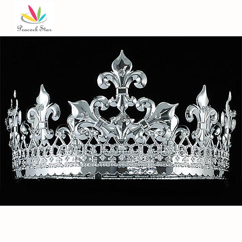 2018 peacock star mens homecoming king crown imperial medieval 2018 peacock star mens homecoming king crown imperial medieval pageant prom accessories full circle round ct1714 from tao03 6031 dhgate thecheapjerseys Choice Image