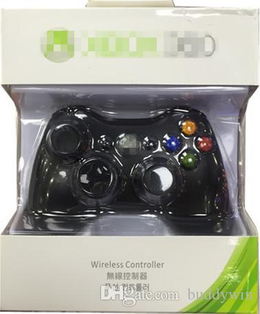 2.4g controlador de jogo sem fio xbox 360 controlador gamepad joypad para xbox 360 andriod pc ps3 com caixa de varejo