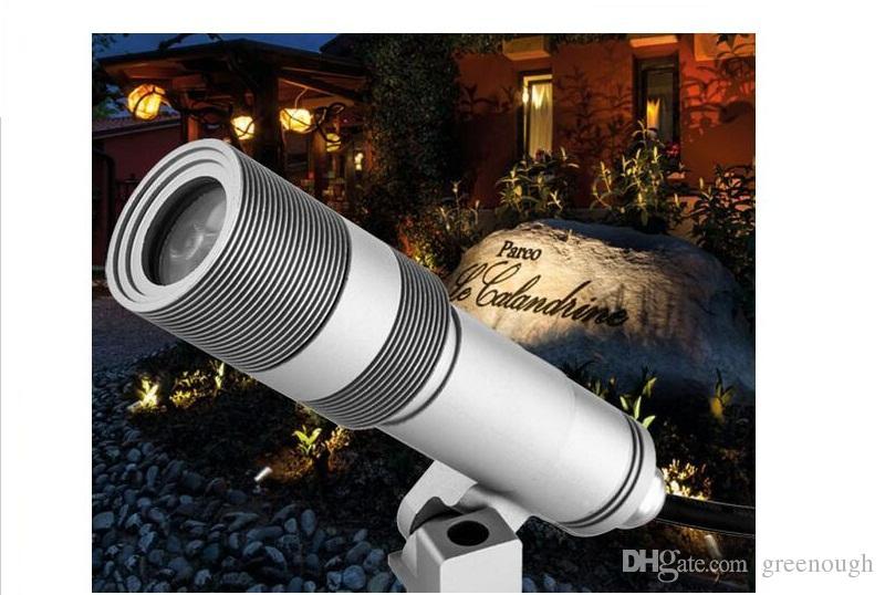 5W LED Spot Light Garden Spike Césped de la lámpara Iluminación del paisaje Proyector de luz Reflector IP67 Iluminación LED de exterior Liamps decoración