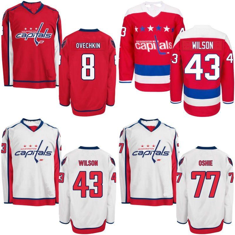premium selection ece87 e66fa Youth Washington Capitals Jersey 8 Alex Ovechkin 13 Jakub Vrana 19 Nicklas  Backstrom 70 Braden Holtby 77 T.J. Oshie Hockey Jerseys