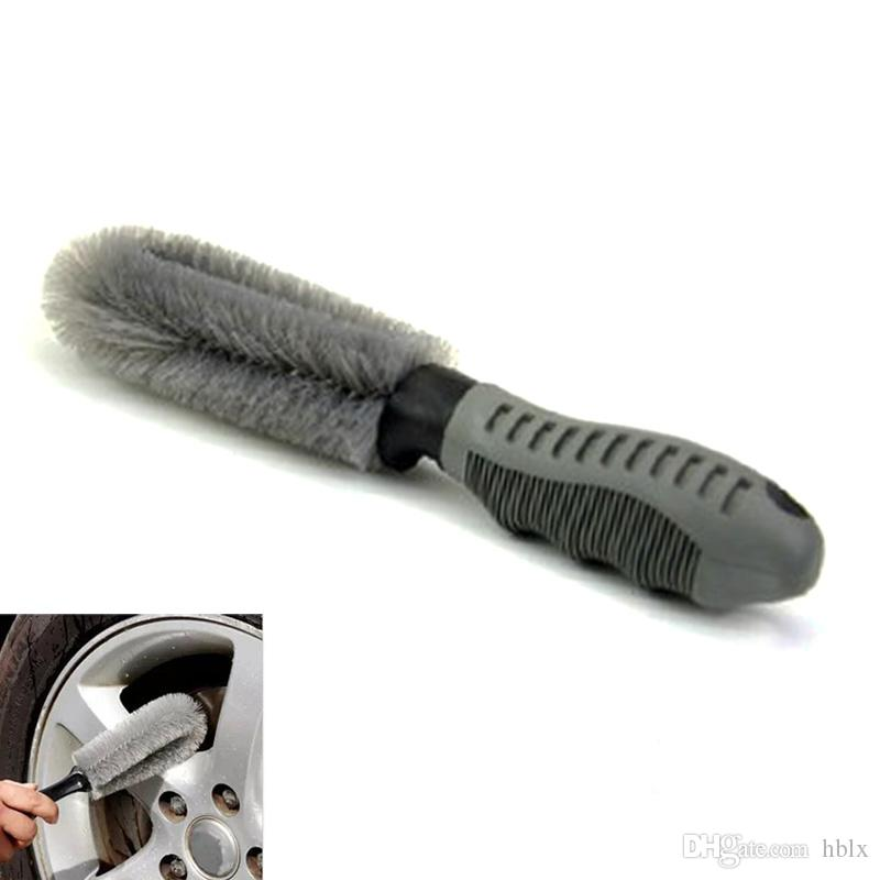 Truck Car Motorcycle Bike Wheel Tire Rim Scrub Hub Cleaning Wash Brushes Washing Tools CCA_106