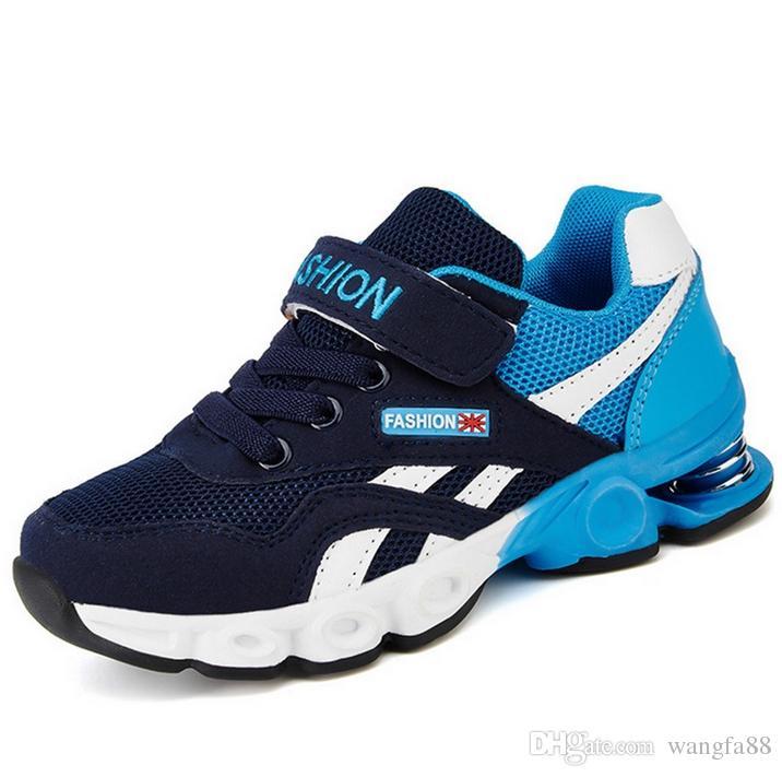 301e459f Compre 2017 Niños Zapatos Deportivos Para Niños Niñas Moda Atlético Primavera  Zapatos Corriendo Cómodo Al Aire Libre Transpirable Niños Zapatillas Zapatos  ...