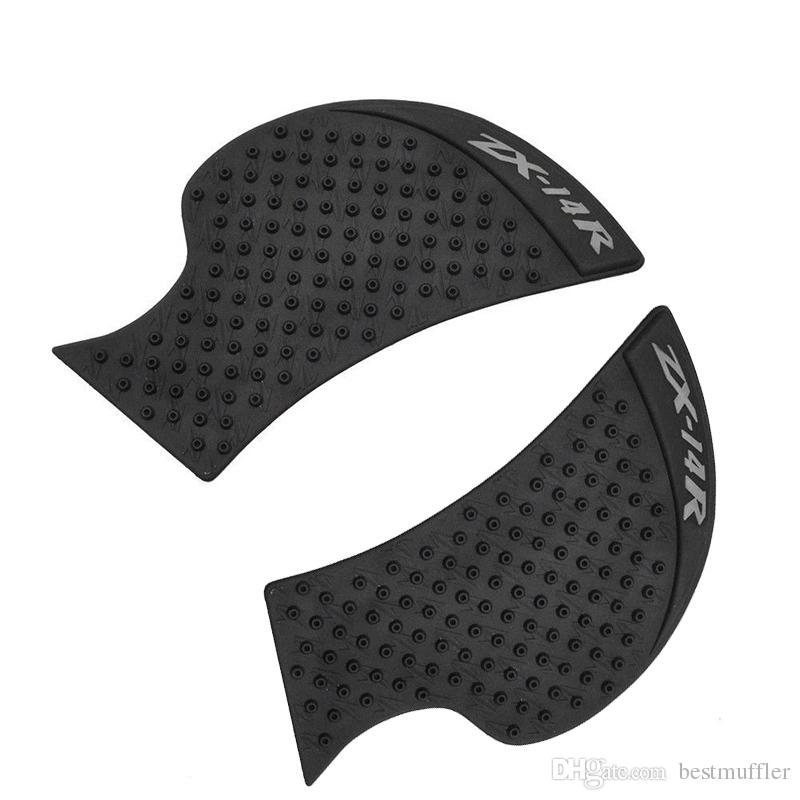 For Kawasaki ZX-14R ZX14R 2006-2015 ZX 14R Motorcycle Anti slip Tank Pad 3M Side Gas Knee Grip Traction Pads Protector Stickers