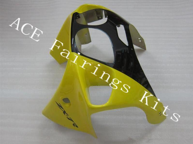 Three free beautiful gift new high quality ABS fairing plates for Kawasaki Ninja ZX-7R 1996-2003 ZX7R Very nice Nice yellow