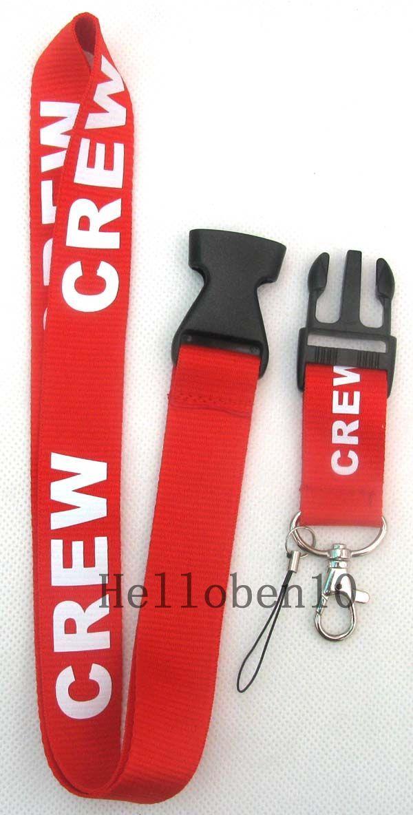 Il nuovo caldo marchio di moda 10 pezzi cinturino cordino bianco rosso porta badge rimovibile portachiavi MP3 con iPod / DS Lite 5