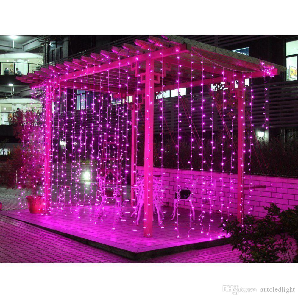 3M X 3M 300 LED Lights Wedding Christmas String Birthday Party Outdoor Home Warm White Decorative Fairy Curtain Garlands