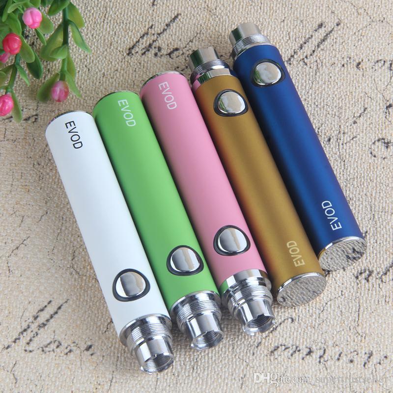Evod Vape Pen Batterie 650 900 1100mAh FIT MT3 VAAMORIZER DAB PENS KIT GLAS GLOBEN EGO ZUOMIZER CE4 BLISTER STARTER Elektronische Zigarette