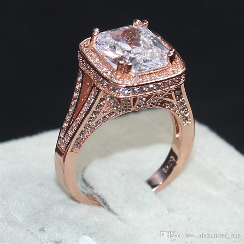 2020 Fashion Jewelry 925 Silver & 14KT Rose Gold Filled