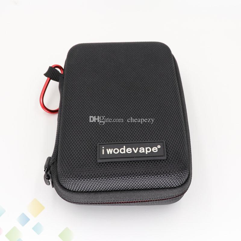 iwodevape E cigarette Vapor Pocket E Cig Case Portable Small DIY Bag Pouch Box Mod Carrying Case Fit Atomizers Mods DHL Free