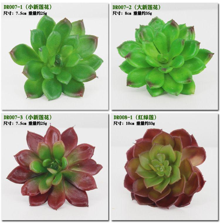 Plantas Artificiales Con Florero Bonsai Cactus Tropical Fake Planta Suculenta En Maceta Oficina En Casa Decorativa Maceta con flores wa3741