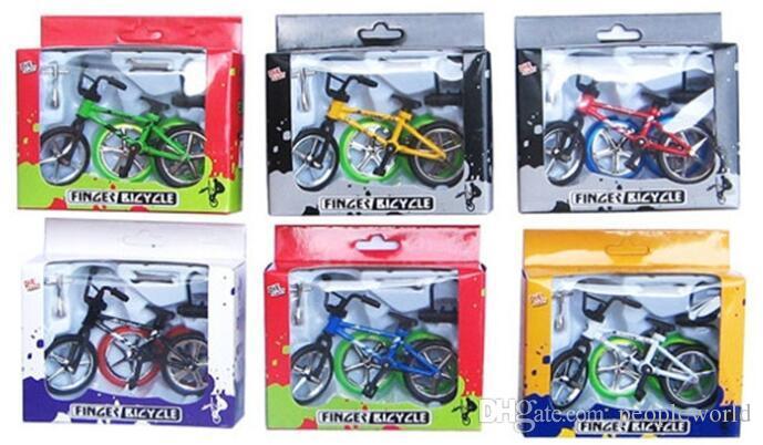 New Alloy Finger Bikes Strange New Desktop Toys Flick Trix Finger