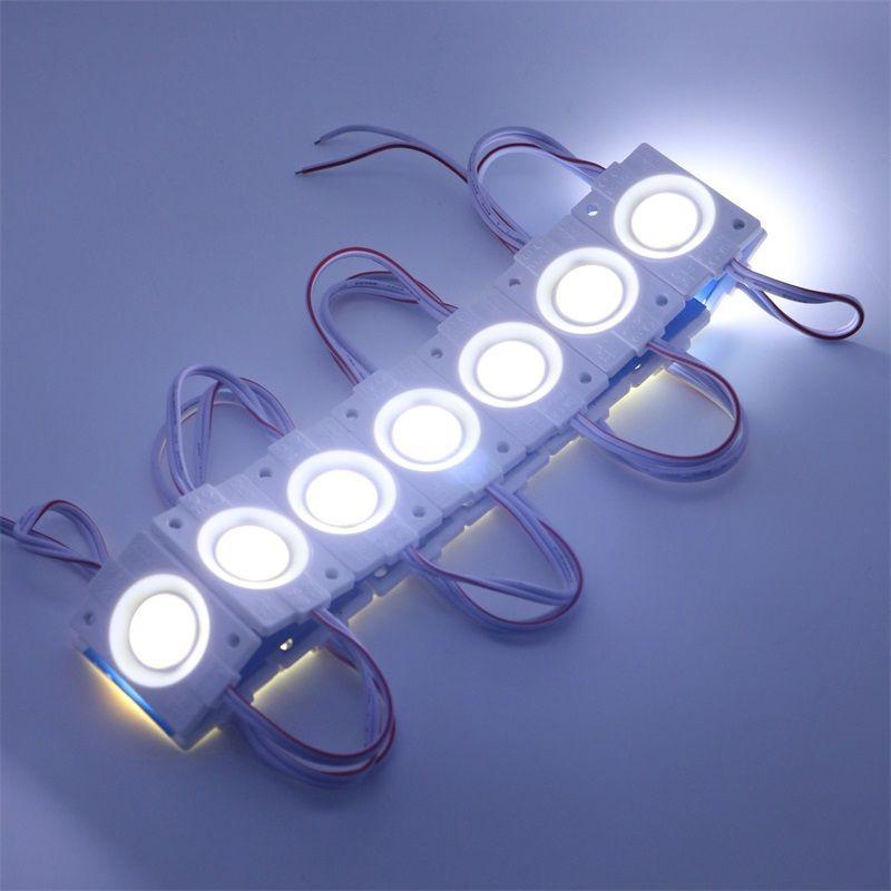 Umlight1688 2019 LED Modul 2.4W / pcs Einspritzung PFEILER Hohe Qualität mit Objektiv DC12V, das Licht annonciert, führte Hintergrundbeleuchtung für Kanal-Buchstabe-Beleuchtung