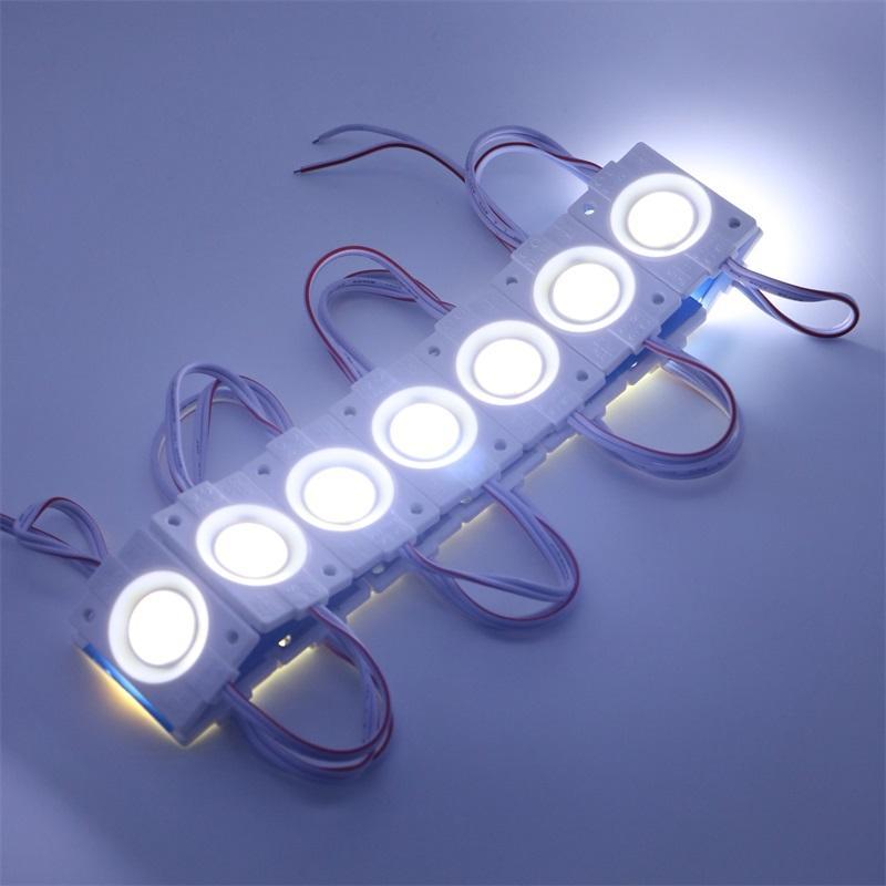Umlight1688 2019 Módulo LED 2.4W / pcs inyección COB Alta calidad con lente DC12V luz publicitaria Retroiluminación LED para letras de canal Iluminación
