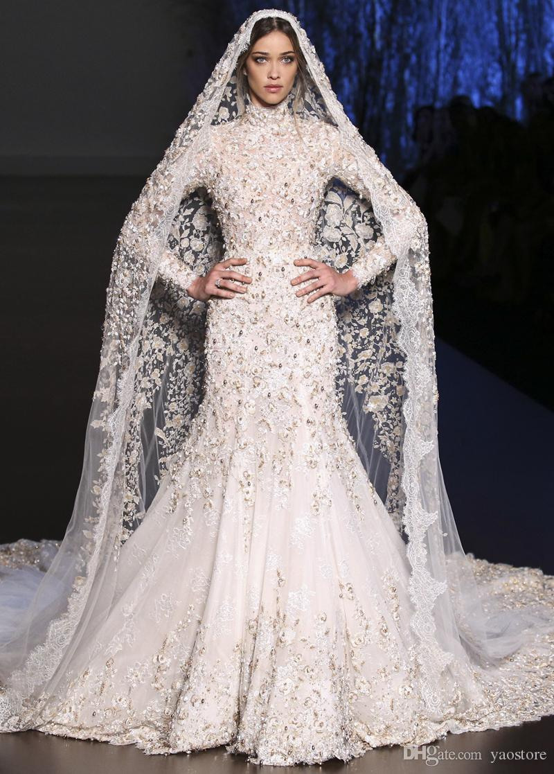 Muslim style wedding dresses