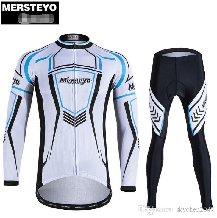 15dfeac68 2018 Mens Breathable Quick Dry Long Sleeve Cycling Jerseys Outdoor Ciclismo  Autumn Team Men S Winter Thermal Cycling Jersey Set ARROW Cycling Clothing  Sale ...