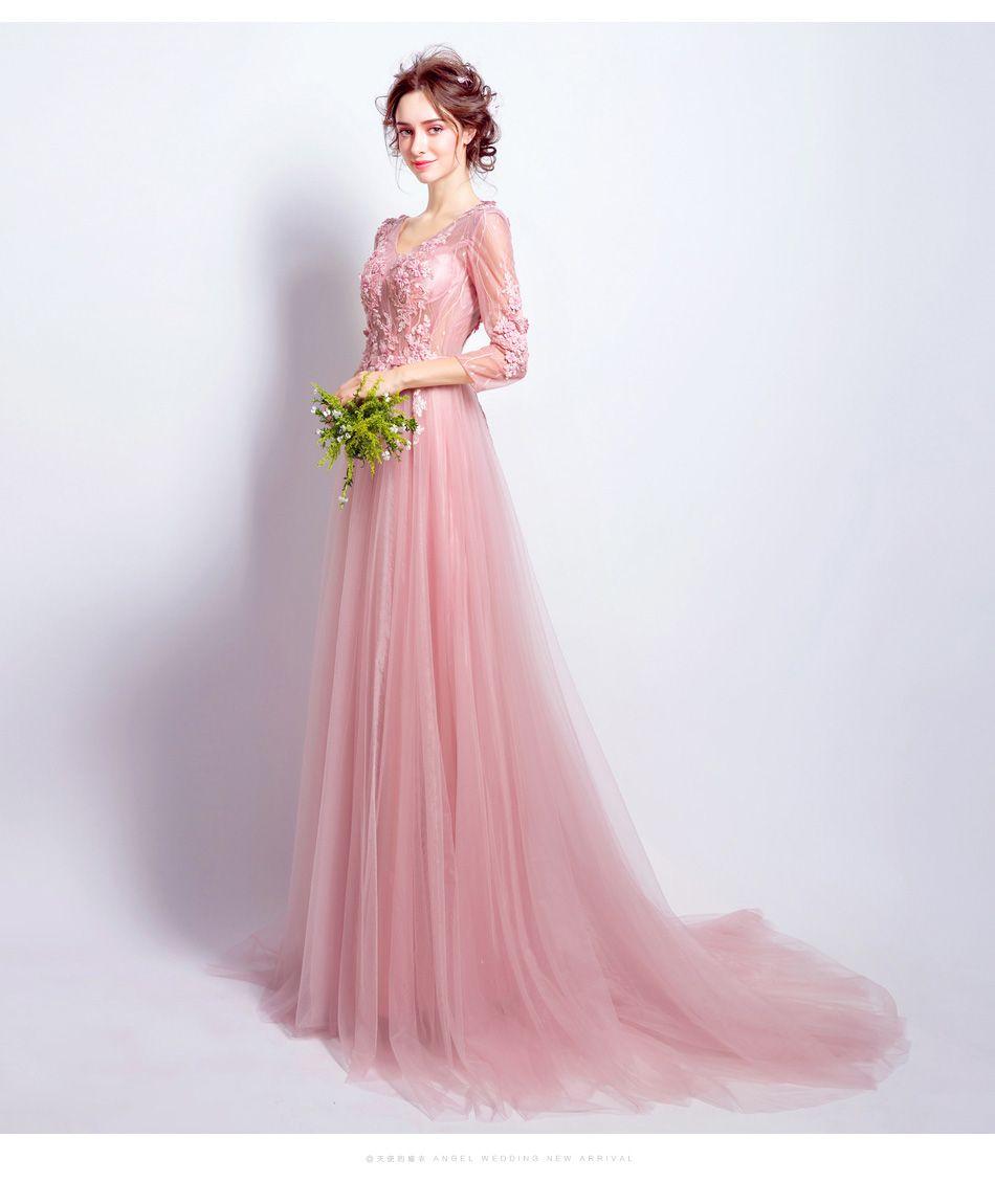 Compre 2017 Nueva Imagen Real Barato Rosa Cariño Falda De Encaje ...