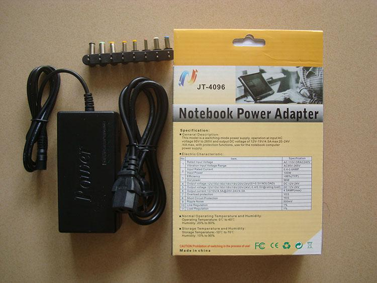 New Hot Sale Universal 96W Laptop Notebook AC Charger Power Adapter