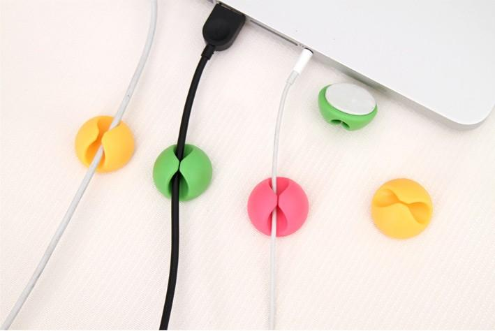 Cable Clips Wire Organizer Cable Winder Retainer Drop Desk Tidy Cord Lead USB Charger Holder Desktop Fixed Clamp