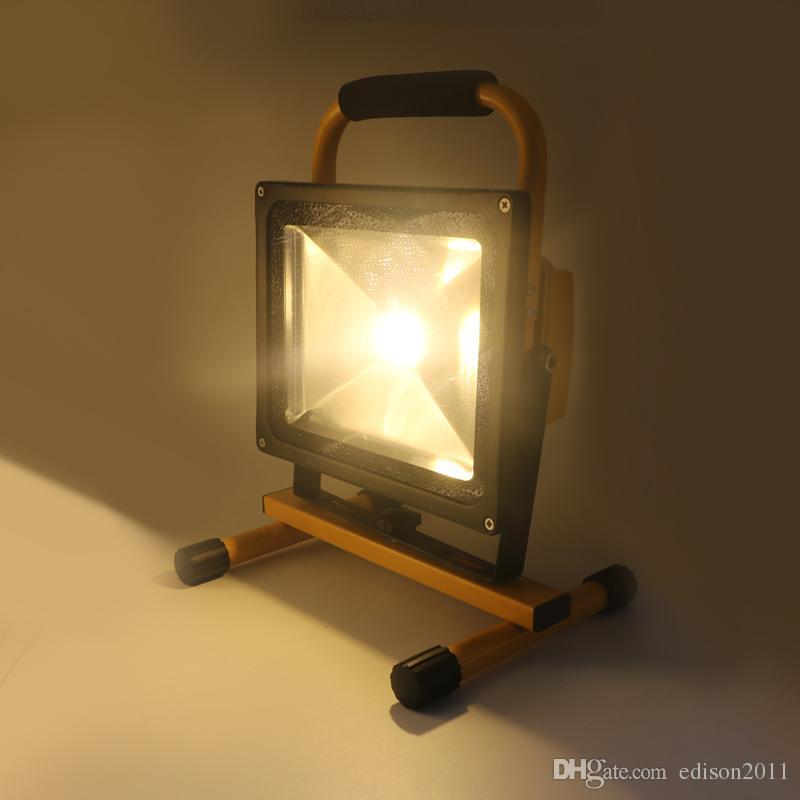 Edison2011 12V levou luz de inundação 10w 20 w 30 w 50 w ip65 impermeável IP65 lâmpada de lâmpada lâmpada do projector