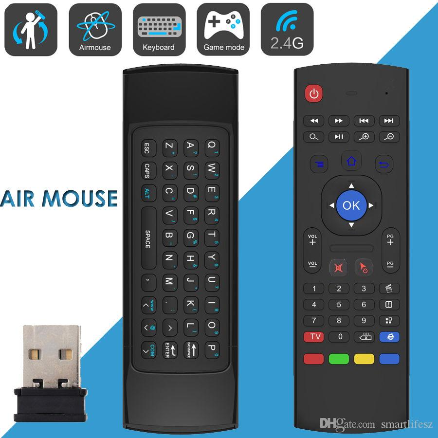 mx3 keyboard 2 4g remote control qwerty wireless keyboard air fly mouse ir remote control for. Black Bedroom Furniture Sets. Home Design Ideas