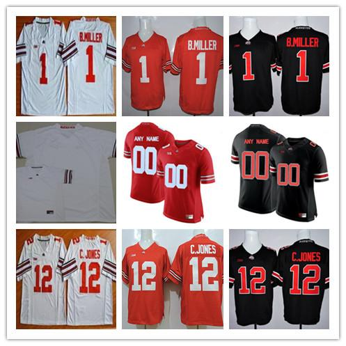 2019 Cheap Ohio State Buckeyes College Football 1 Johnnie Dixon Jeffrey  Okudah 12 Denzel Ward Brendan Skalitzky White Black Red Stitched Jerseys  From ... 390a22be7