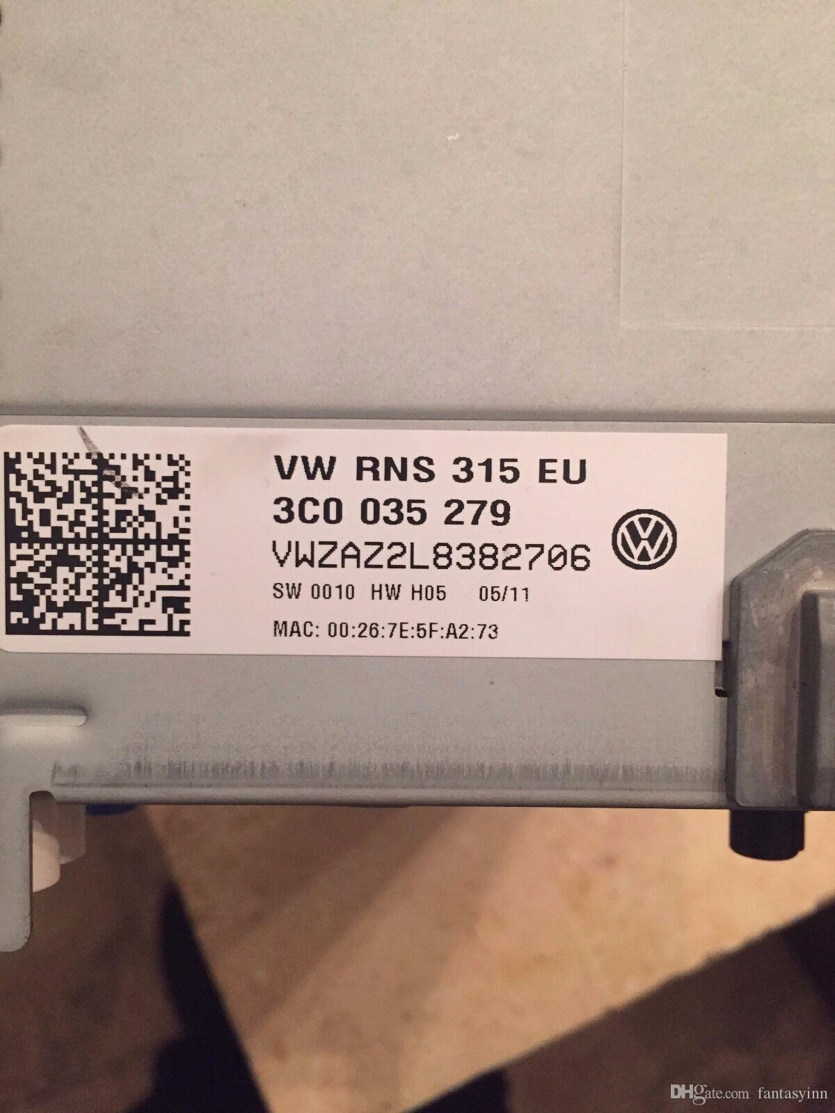 Unlock Decode Service For Volkswagen VW Car Radio Navigation Unlock Decode Service FIT VW RNS310 RNS315