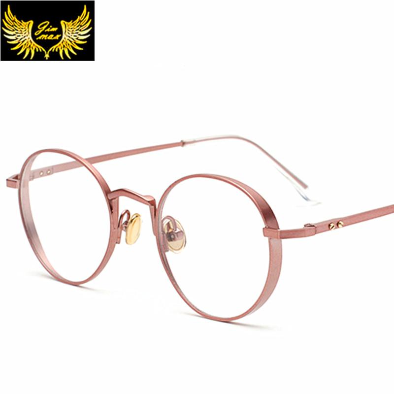 7569a35e8ec8 2019 Wholesale 2016 New Arrival Women Style Metal Round Eye Glasses Fashion  Women S Style Optical Frame Brand Design Eyewear For Women From  Newcollection
