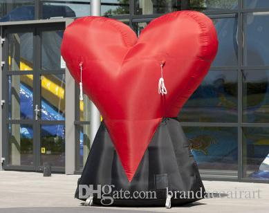 2018 Oxford Fabric Giant Inflatable Heart For Valentineu0027S Decorations  Valentine Party From Brandaceairart, $241.21 | Dhgate.Com