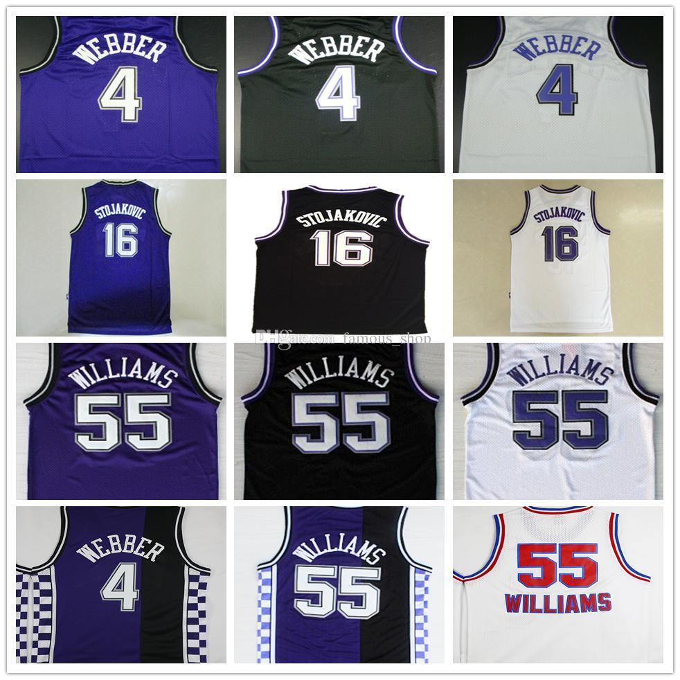 ... free shipping sacramento kings peja stojakovic 16 black jersey all size  e 16 peja stojakovic jersey 1274b2f36
