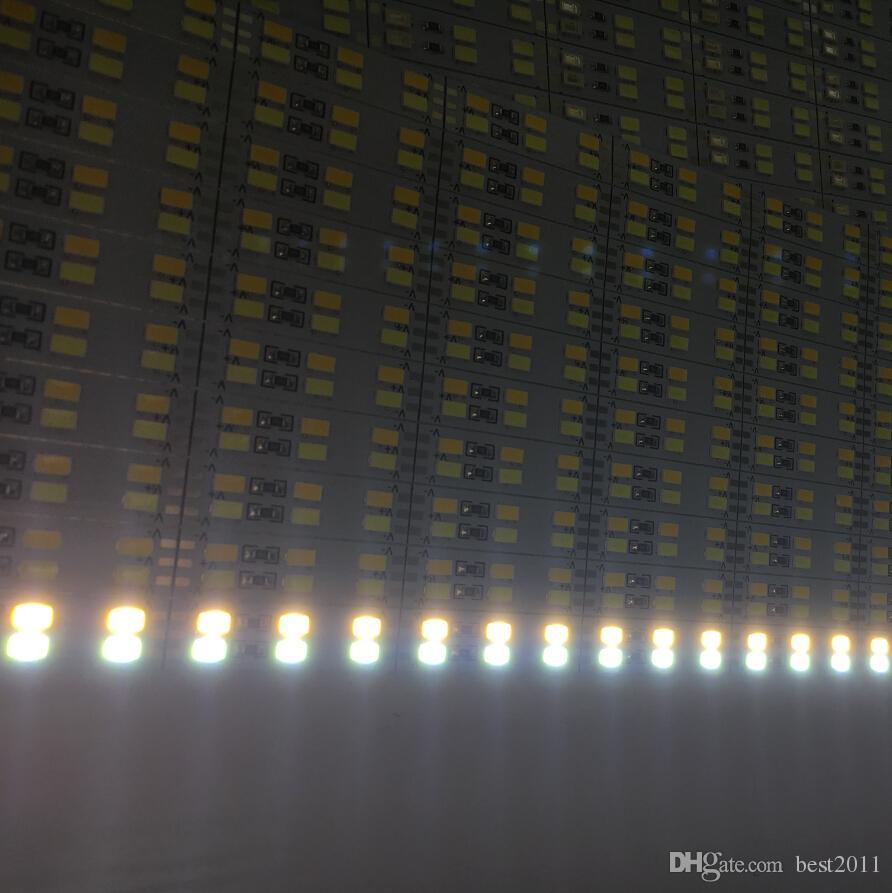 더블 행 1m DC 12V * SMD 5630 5730 LED 바 리지드 LED 스트립 100cm 캐비닛 라이트 화이트 50m /
