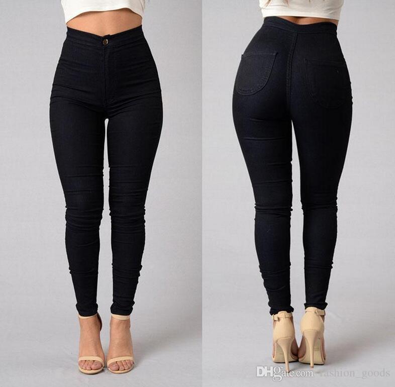 Çok şeker meyve kalem kalem pantolon JW012 Kadın Jeans Best hediye Patlamaları