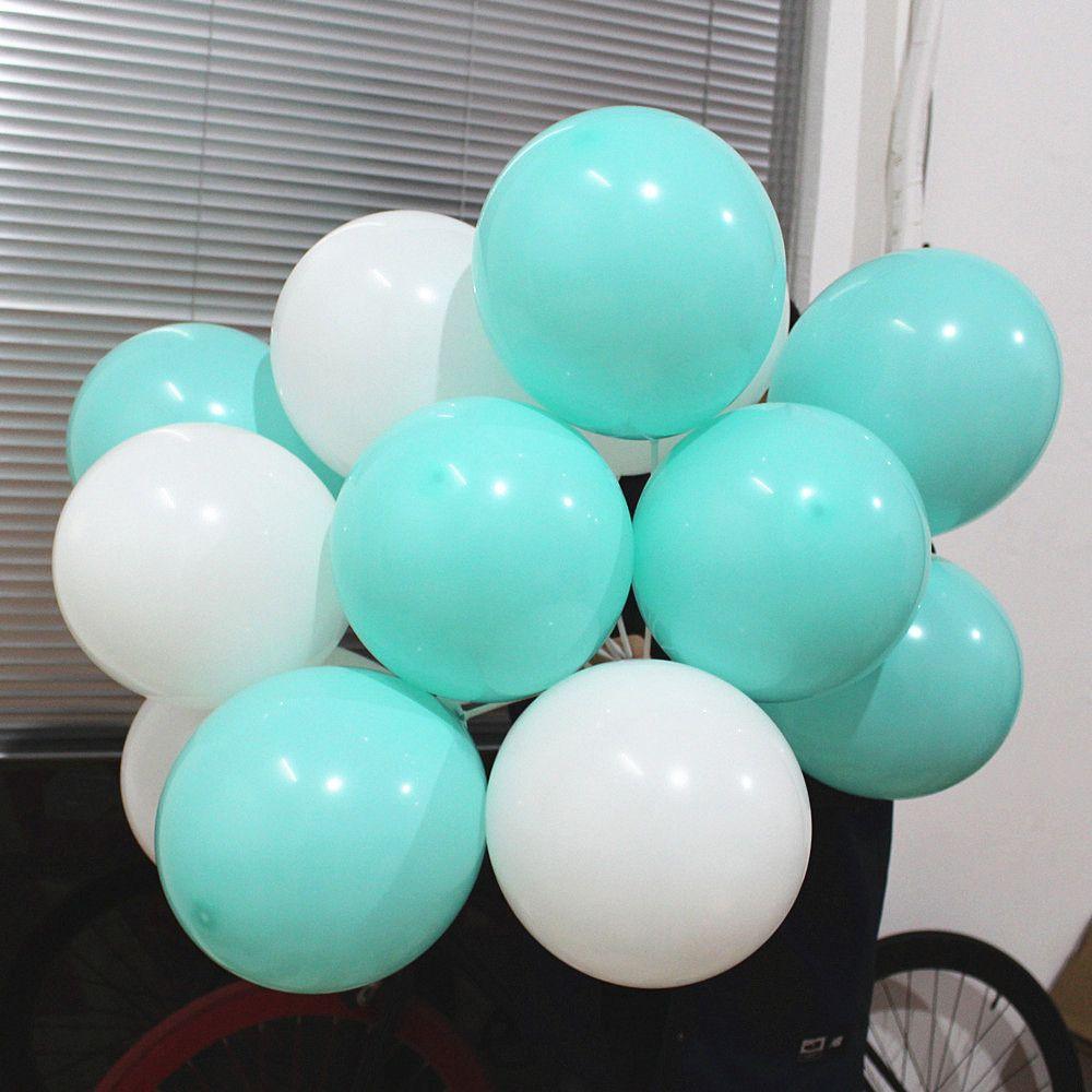 Compre Globos Azules De Tiffany 10 Pulgadas De Espesor 2.2 G Globos De  Cumpleaños Decoraciones Globos De La Boda Tiffany Blue Globos Party  Wholesale A  3.02 ... 3a1f3c5775914