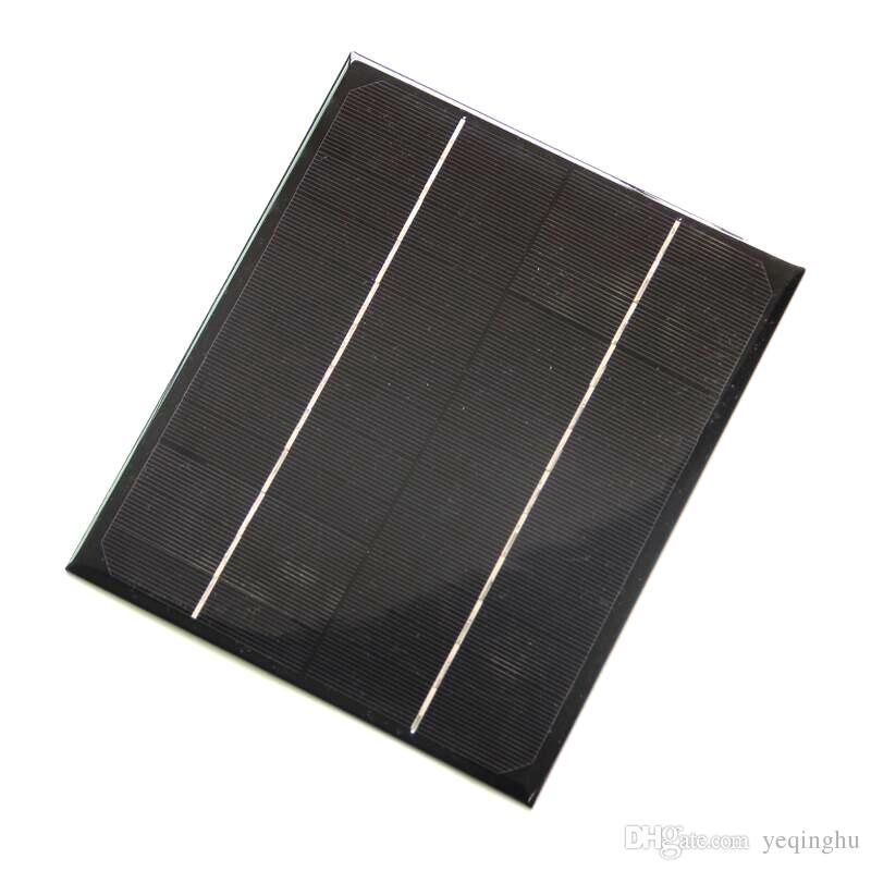 Alta Calidad 6 W 12 V Módulo de Célula Solar Monocristalina DiySolar Sistema de Panel de Energía Verde 200 * 170 * 3 MM Envío Gratis