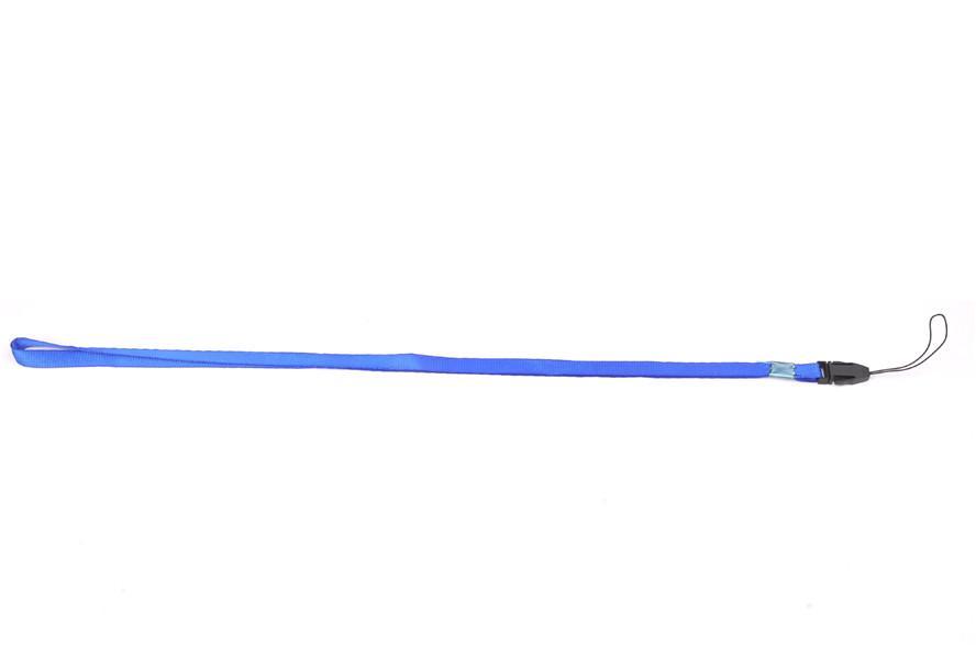ancho 1 cm poliéster acollador tarjeta del empleado Permiso de trabajo acollador de tarjeta con gancho de langosta de metal.
