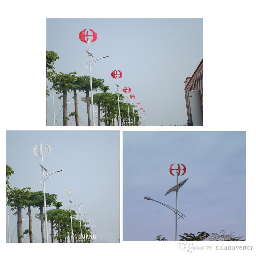 100w 3 phase ac 12v 24v wind turbine small home Vertical generator start up with low wind speed
