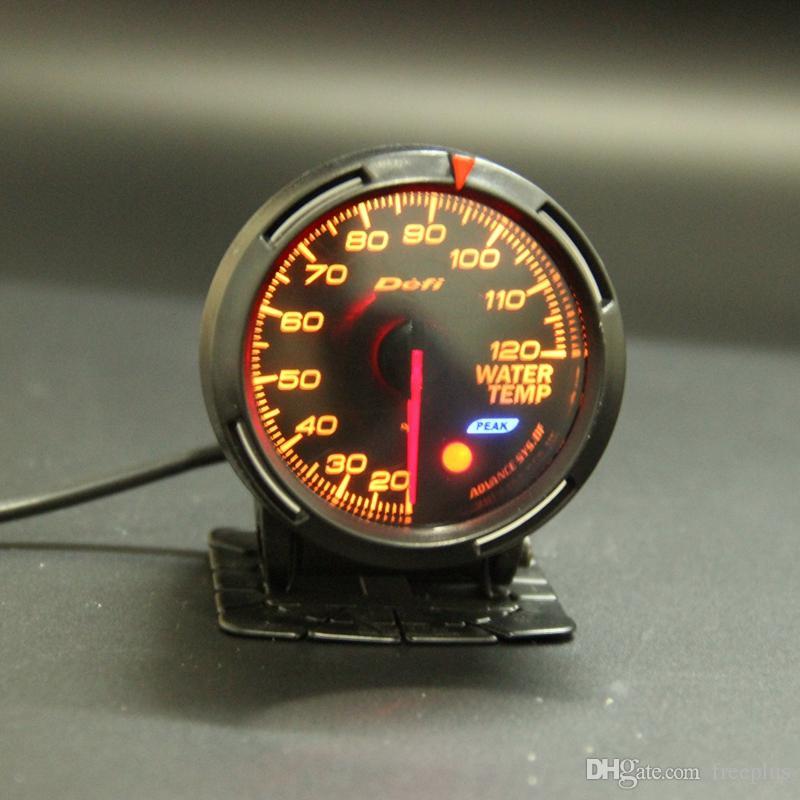 13 Retroilluminazione Colore in 1 60mm Racing DEFI BF Link Auto Gauge Temperatura acqua Guage Sensore temperatura acqua