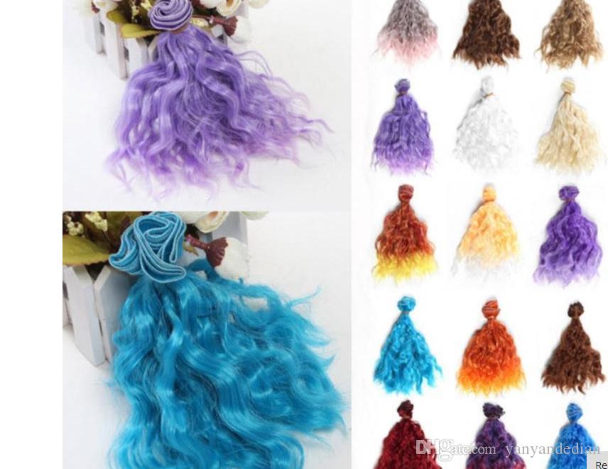 High Quality Doll Bjd Doll Hair Diy High Temperature Wire Handmade