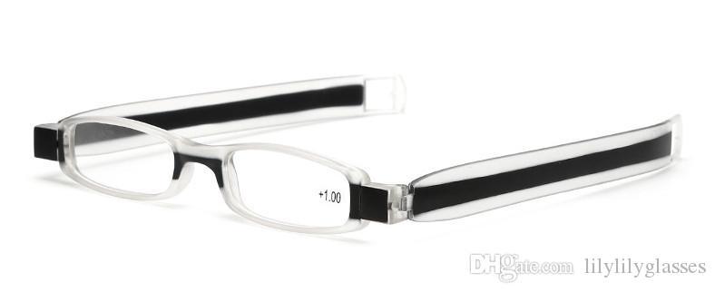 /  Lunettes de lecture pliantes / lunettes presbytes en plastique pour hommes femmes beaucoup de couleurs