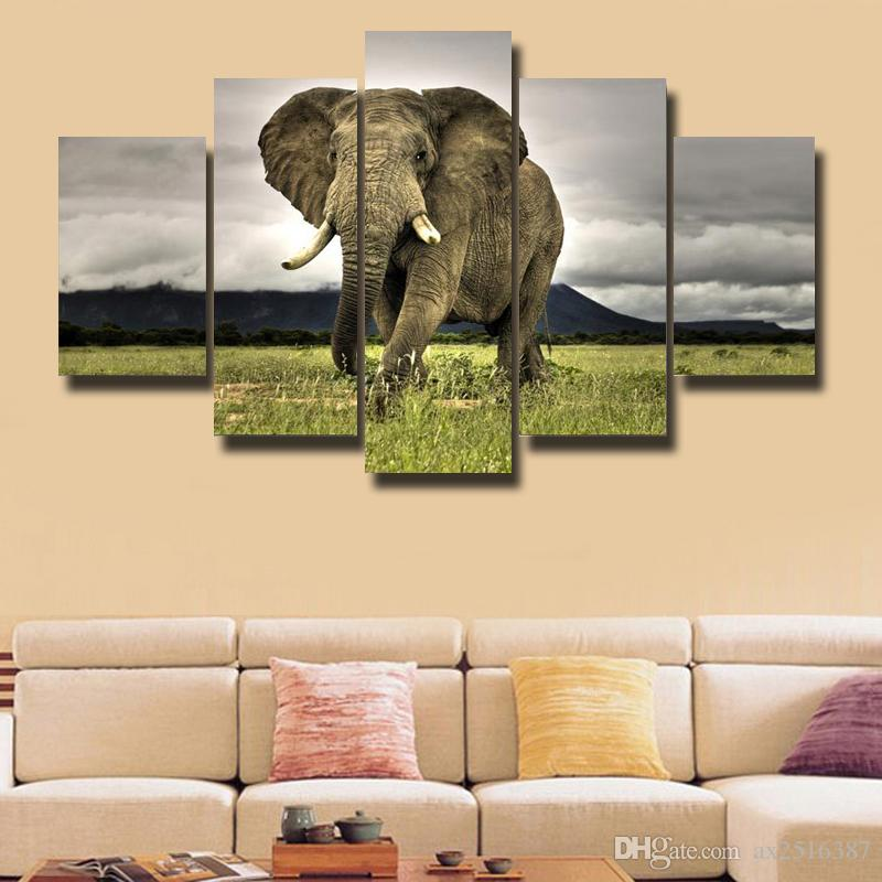 5 Pcs/Set Beautiful picture HD Picture Canvas Print Painting Modern Canvas Wall Art Gift For Home Decoration #173