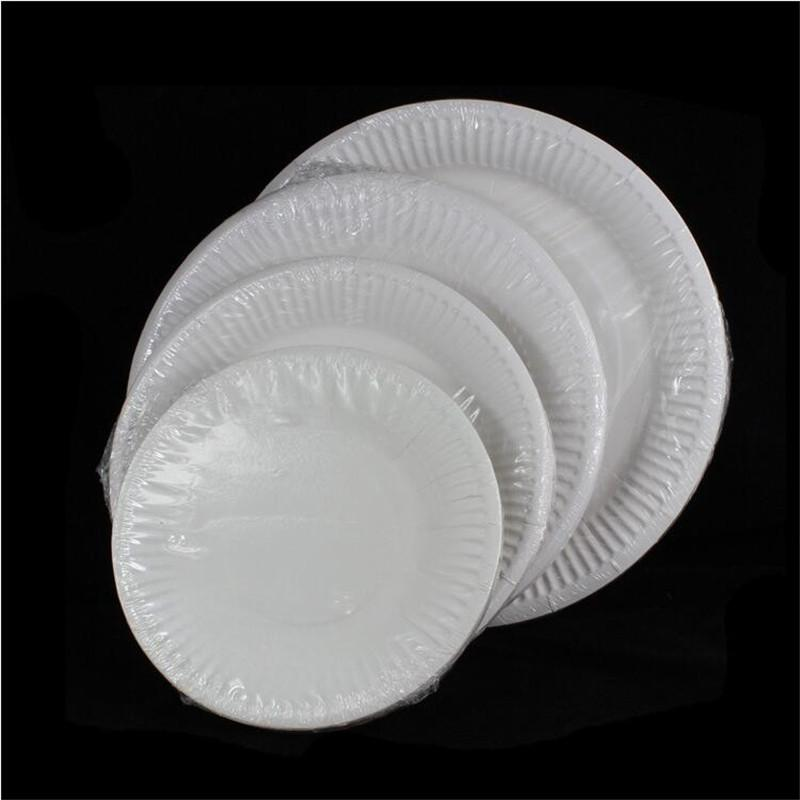 Best Wholesale New White Round Paper Dishes For Birthday Party Disposable Dinner Plates Wedding Party Supplies Under $20.37 | Dhgate.Com  sc 1 st  DHgate.com & Wholesale-10 pcs/lot new white round paper Dishes for birthday party Disposable Dinner Plates Wedding Party Supplies