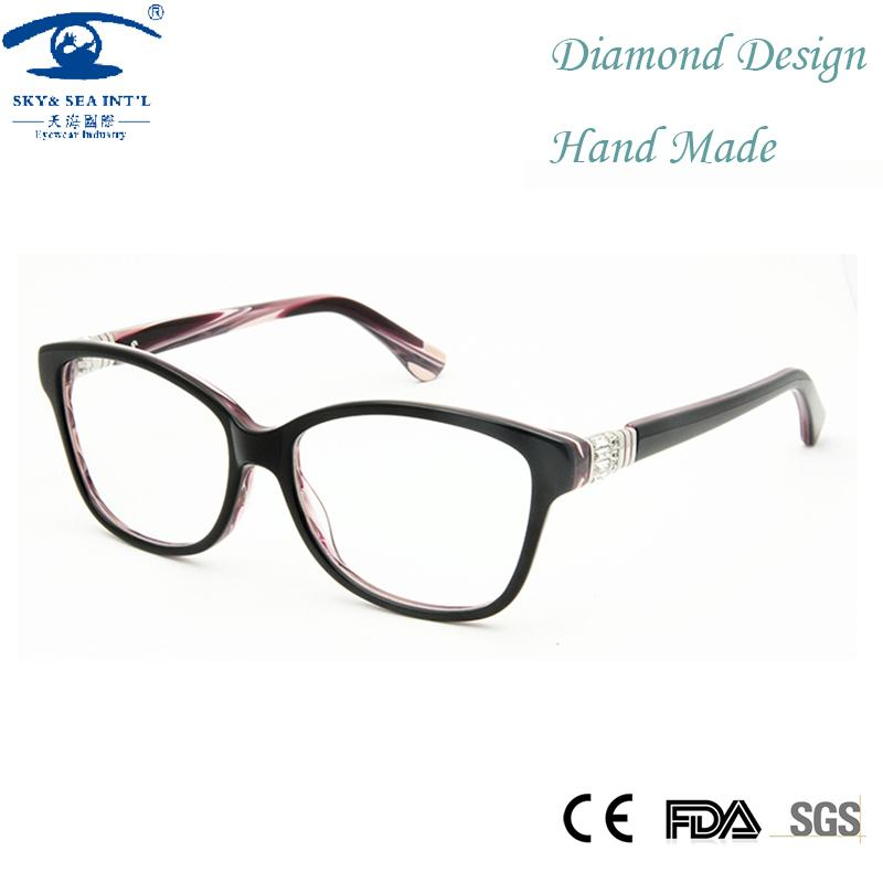 b45d030e73 Wholesale- High Quality Handmade Optical Frame Women Eyeglasses ...