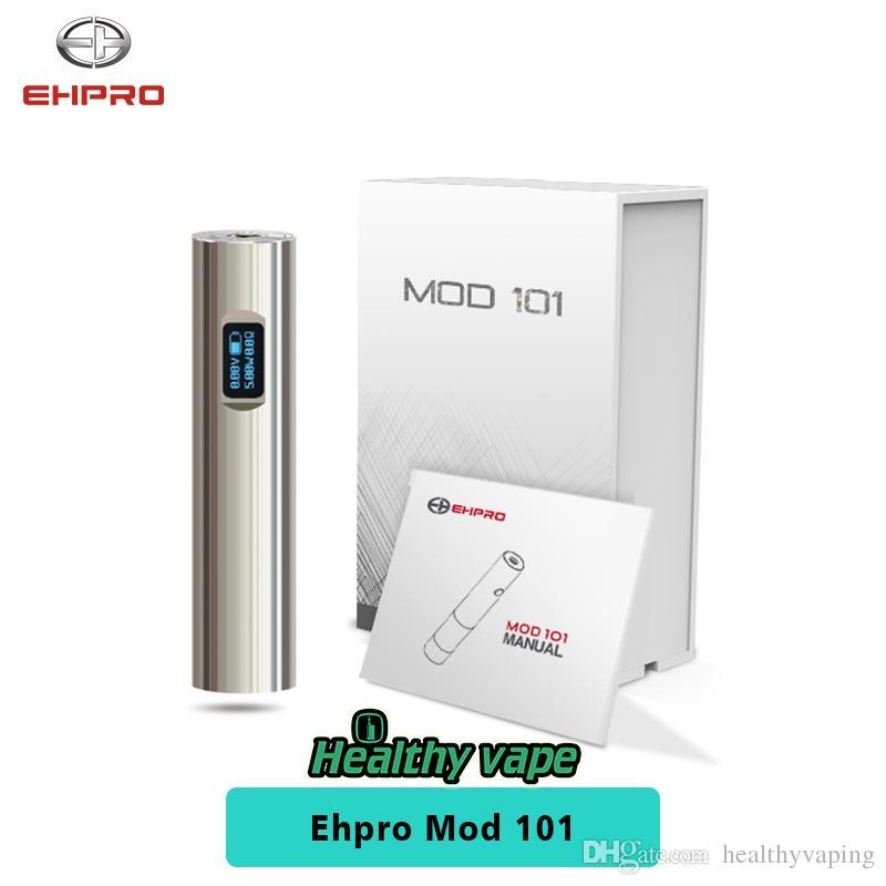 Ehpro Mod 101 50W Mech Vape Mod 0,49 pollici OLED Schermo 18350 18650 batterie 100% originale