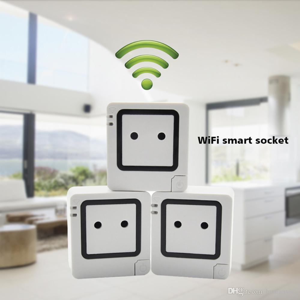 großhandel wifi intelligente steckdose steckdose, arbeit mit telefon