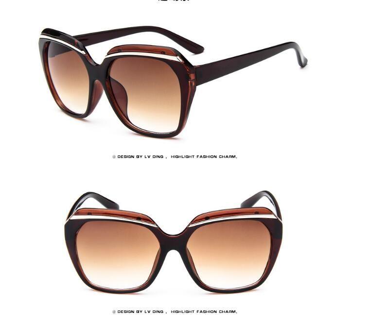 Yüksek Kaliteli WomeFashion Lüks Güneş Kadınlar Bayanlar Için Marka Tasarımcısı Lindy Retro Güneş Gözlükleri Klasik Vintage UV400 Kadın ulosculos