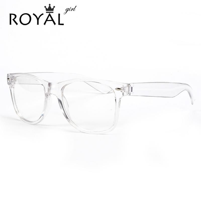 6b8a2068b07d 2019 Wholesale ROYAL GIRL New Fashion Eyeglasses Transparent Frame Glasses  Cool Driving Spectacles For Women SS023 From Tonic