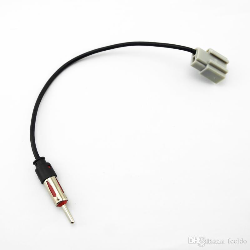 현대 기아 오디오 액세서리 어댑터 # 2245 용 FEELDO 자동차 애프터 마켓 오디오 라디오 안테나 어댑터 플러그 케이블