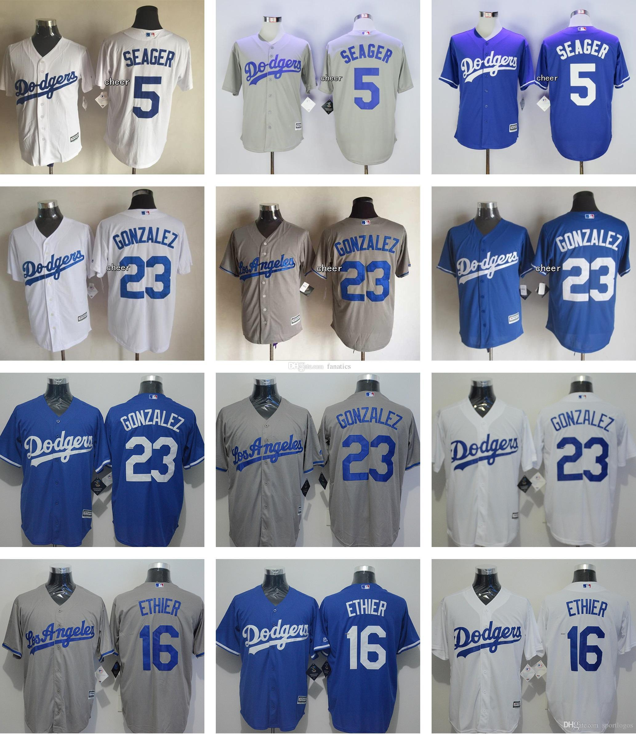 32b135fed ... dodgers jackie robinson blue new cool base stitched mlb jersey 2017 mens  16 andre ethier 23
