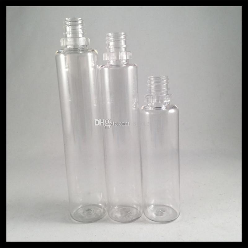 Einhorn-Tropfflaschen 40ml mit kindersicherer Manipulationskappe und langen dünnen Spitzen Dropper-Kunststoff-Ejuice-Flaschen
