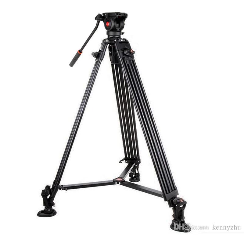 Viltrox Pro 1.8 m De Alumínio Heavy Duty Vídeo Fluido Tripé VX-18M + Pan Cabeça + Bolsa de Transporte para DSLR Camera DV Camcorder
